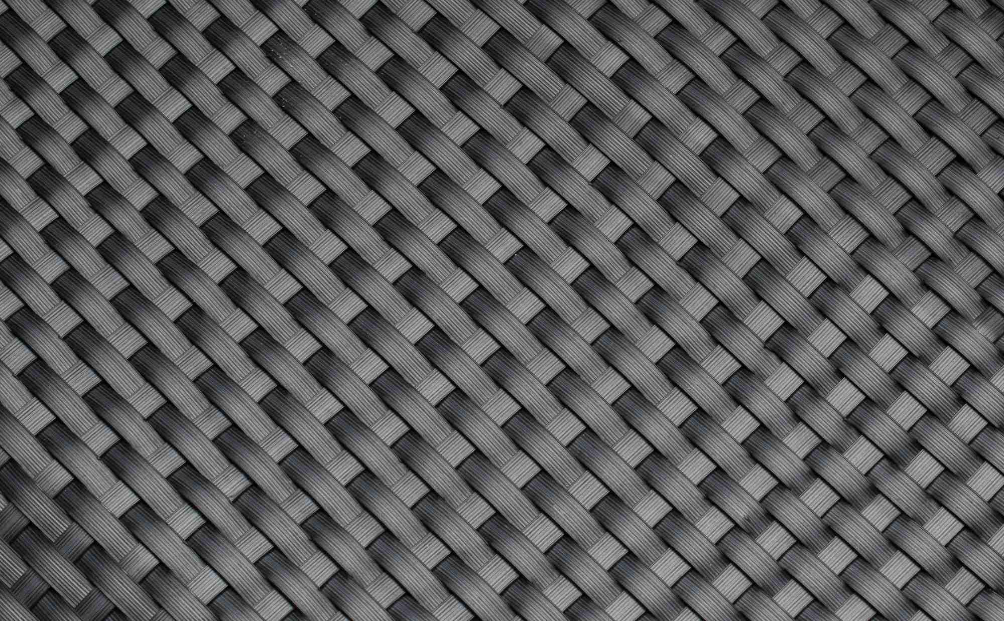 Umělý ratan - ocelově šedá, balení 1x20m