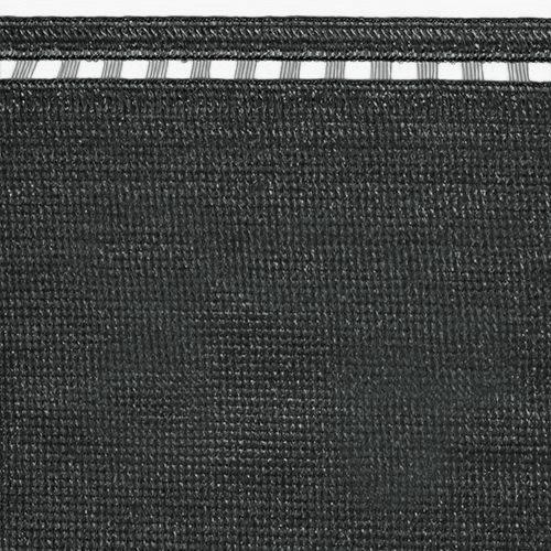 Stínící tkanina 230 g/m2, výška 2,0 m - metráž (100% antracitová stínící tkanina)