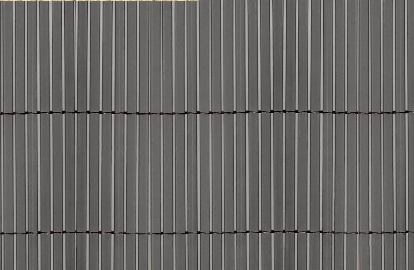 Umělý rákos COLORADO 1,5m x 5m, šedá barva