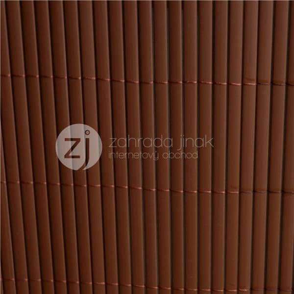 Bambusová rohož - BAMBOO MAT - B, výška 1,2 m (Hnědá bambusová stínící rohož)