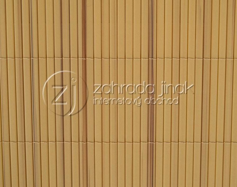 Bambusová rohož - BAMBOO MINI - YB, výška 1,5 m (Žíhaná bambusová stínící rohož)