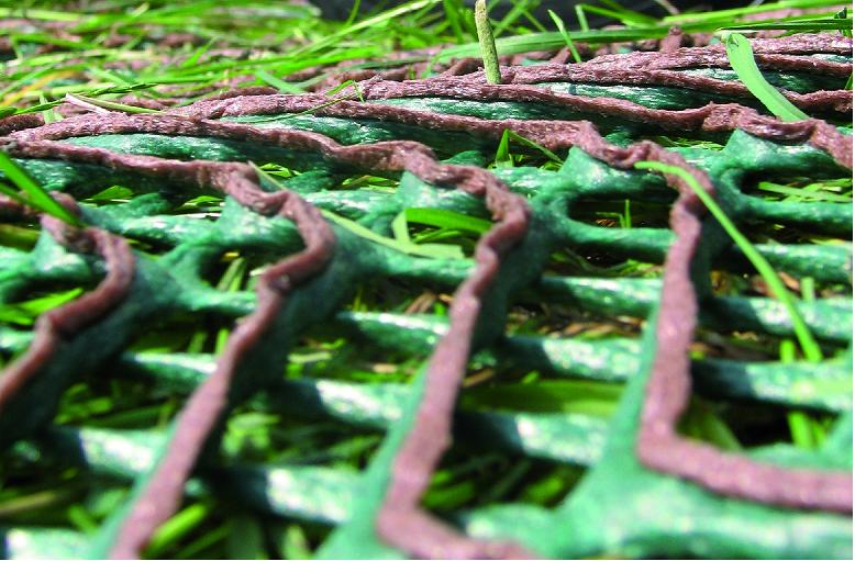 Zatravňovací rohož GrassRoll Premium+ 2x5m včetně U-Pinů
