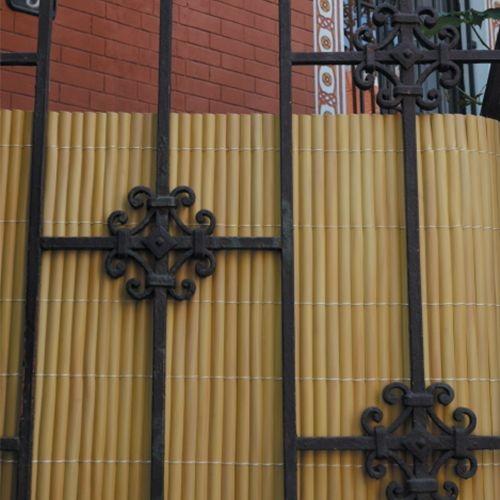 Bambusová rohož okrová NILO PLUS, výška 1,0 m (Okrová bambusová stínící rohož)
