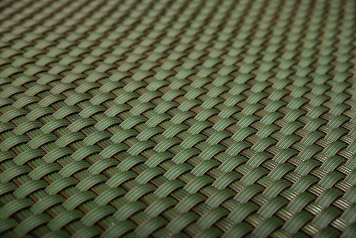 Umělý ratan - zelená, výška 1m
