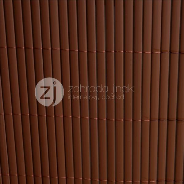 Bambusová rohož - BAMBOO MAT - B, výška 1,0 m (Hnědá bambusová stínící rohož)